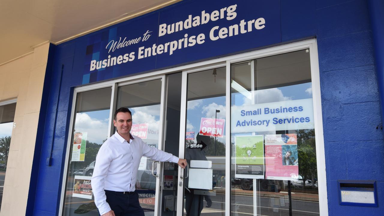 Bundaberg BEC manager Marcus McCormick.