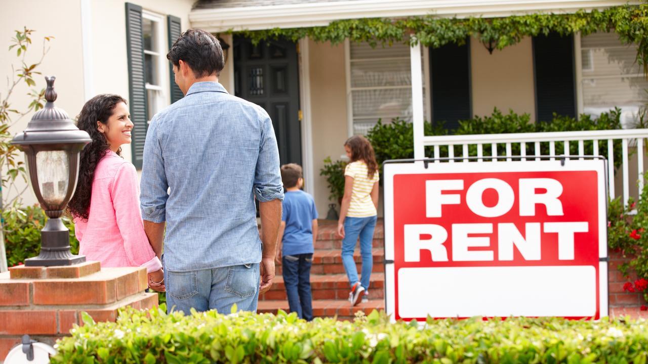 The rental market has gotten a little less tight.