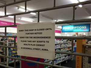 Pharmacy closure leaves town in shock