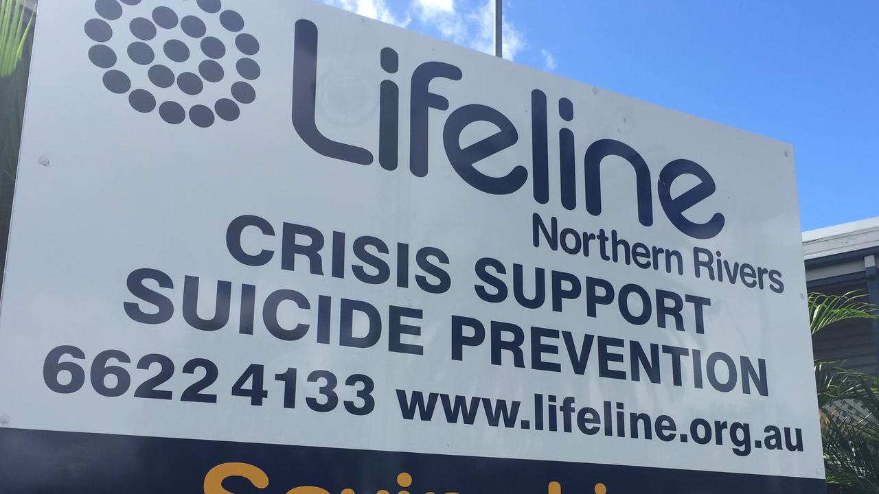 Lifeline sign.