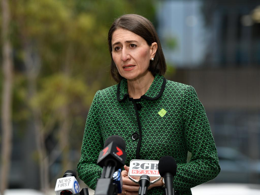 NSW Premier Gladys Berejiklian warned the state could face stricter lockdowns if people don't take self-isolation and social distancing seriously. Picture: AAP