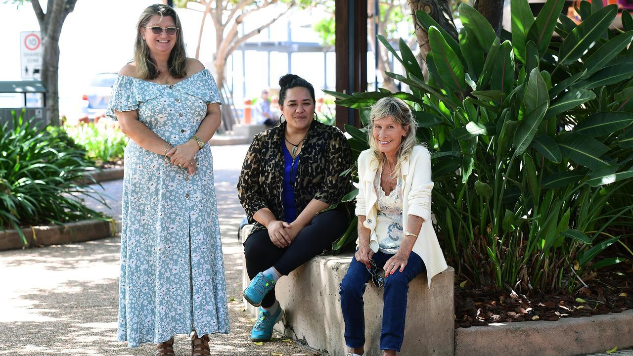 Annie McGrath, Lorraine Finau and Lyn Mano are determined to help the isolated and needy in the Bundaberg Bargara region.