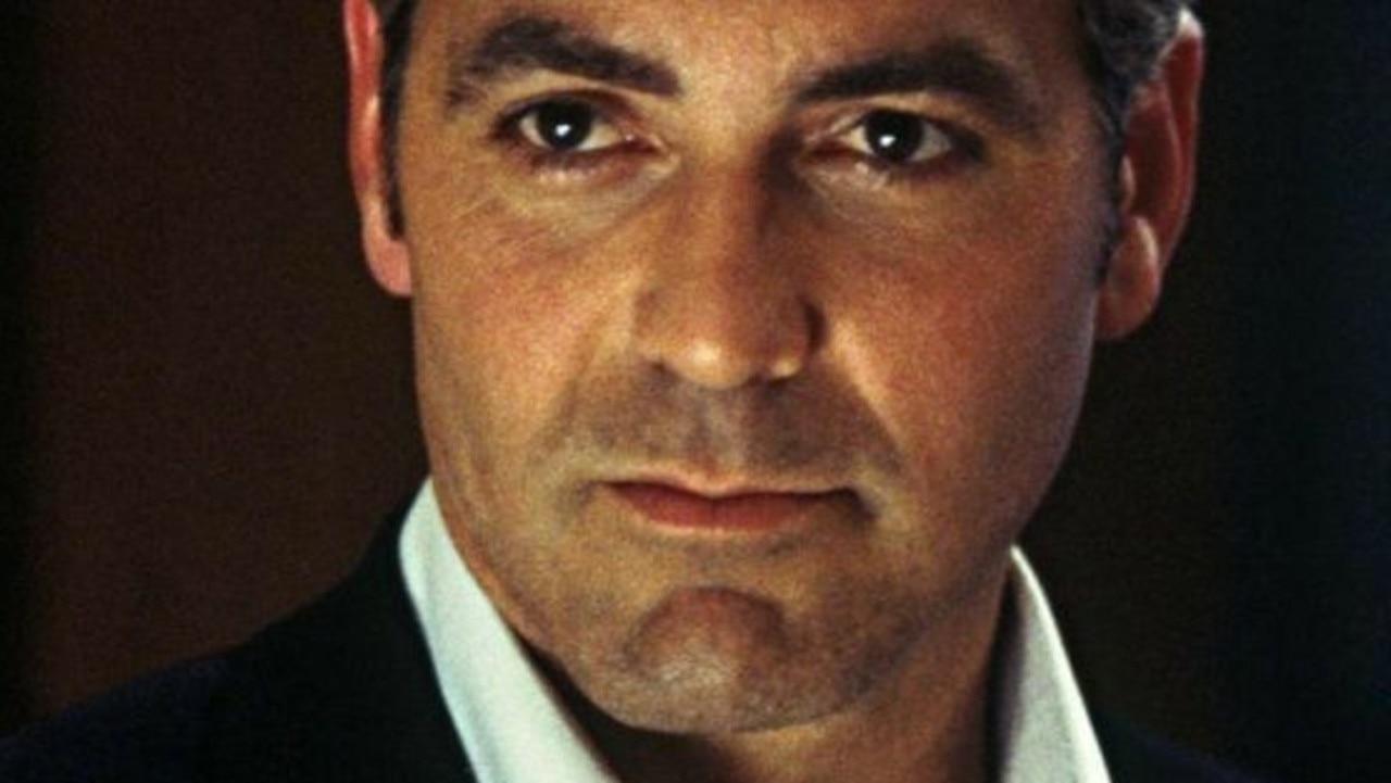 George Clooney in Ocean's Eleven.