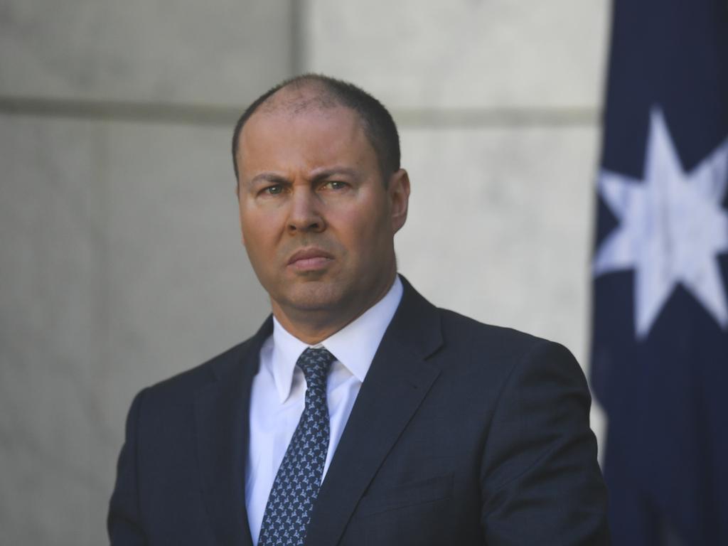 Australian Treasurer Josh Frydenberg. Picture: AAP