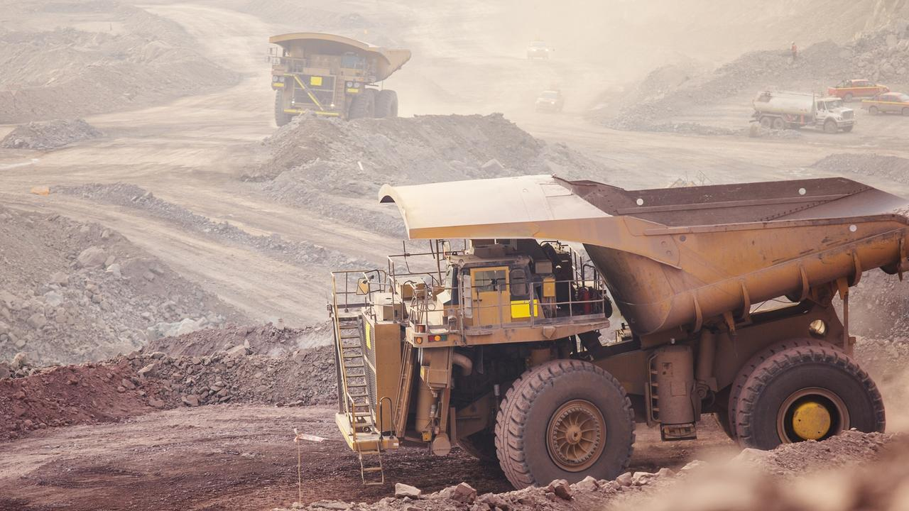 Mining across the globe is contracting as workers face a national lockdown. Picture: Supplied
