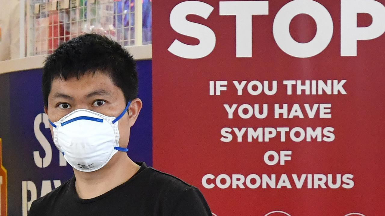 How long can the coronavirus survive outside your body? Picture: AAP Image/Darren England