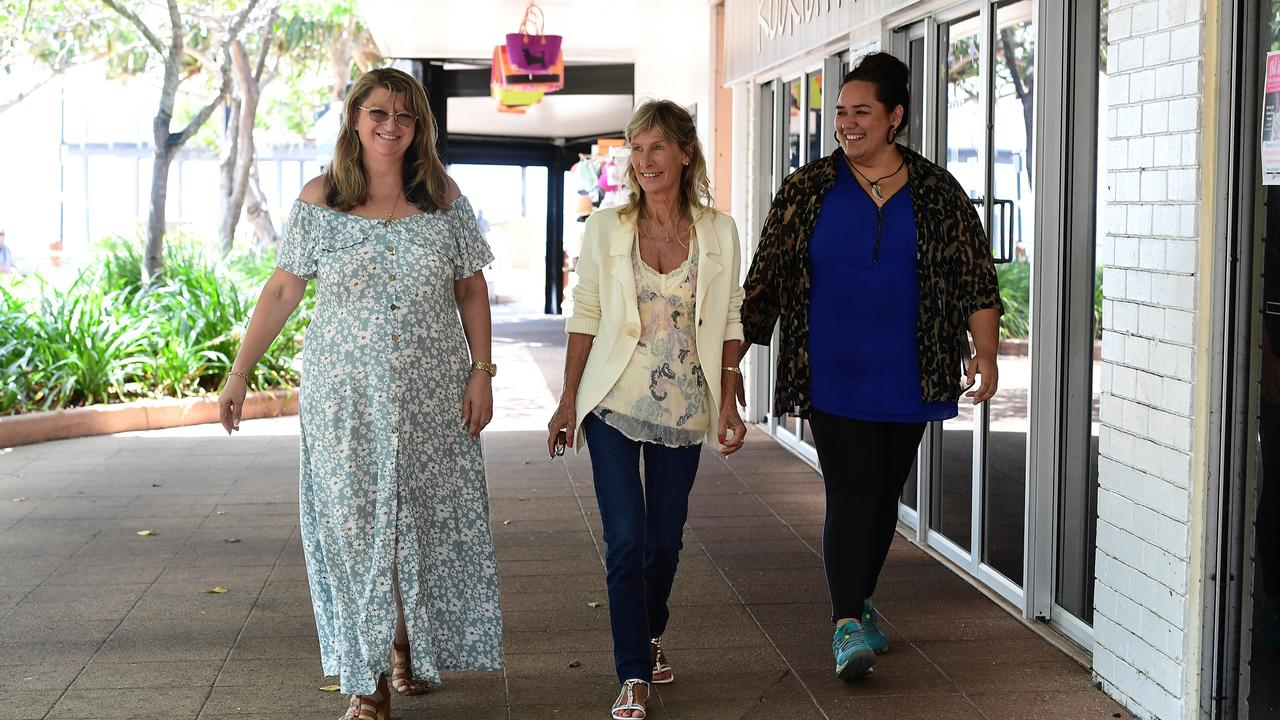 ALL YOU NEED IS LOVE: Annie McGrath, Lyn Mano and Lorraine Finau are determined to help the isolated and needy in the Bundaberg Bargara region.