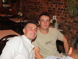 Nitelife: Jack Mclovin (left) and Liam Staplehurst at