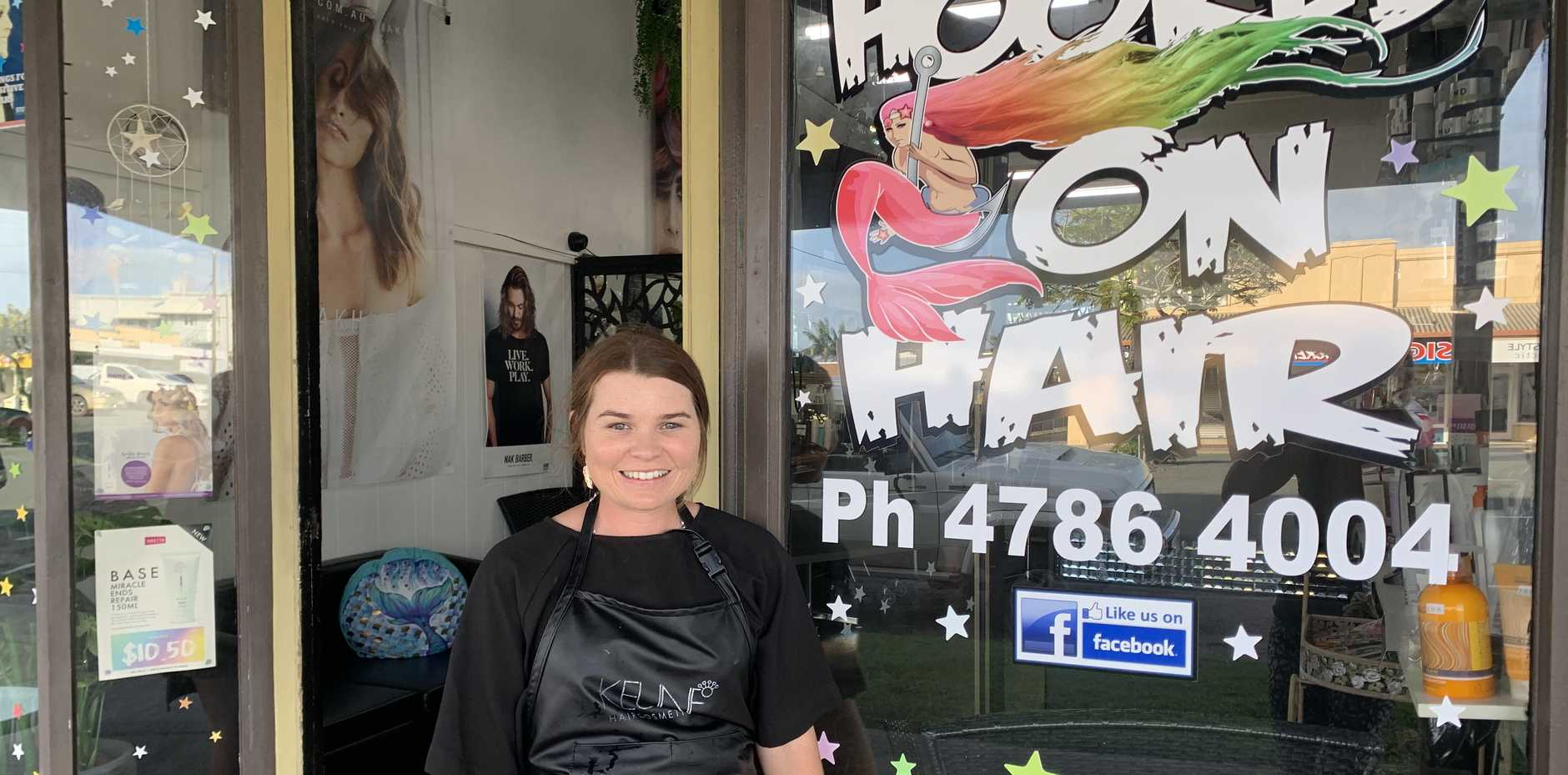Abby Plate from Hooked on Hair say they are doing the best they can after new restrictions amid COVID-19 health crisis.