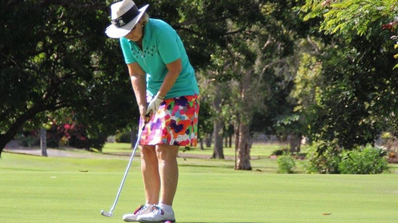 Bundaberg's Miriam Newman can now play golf again at the course.