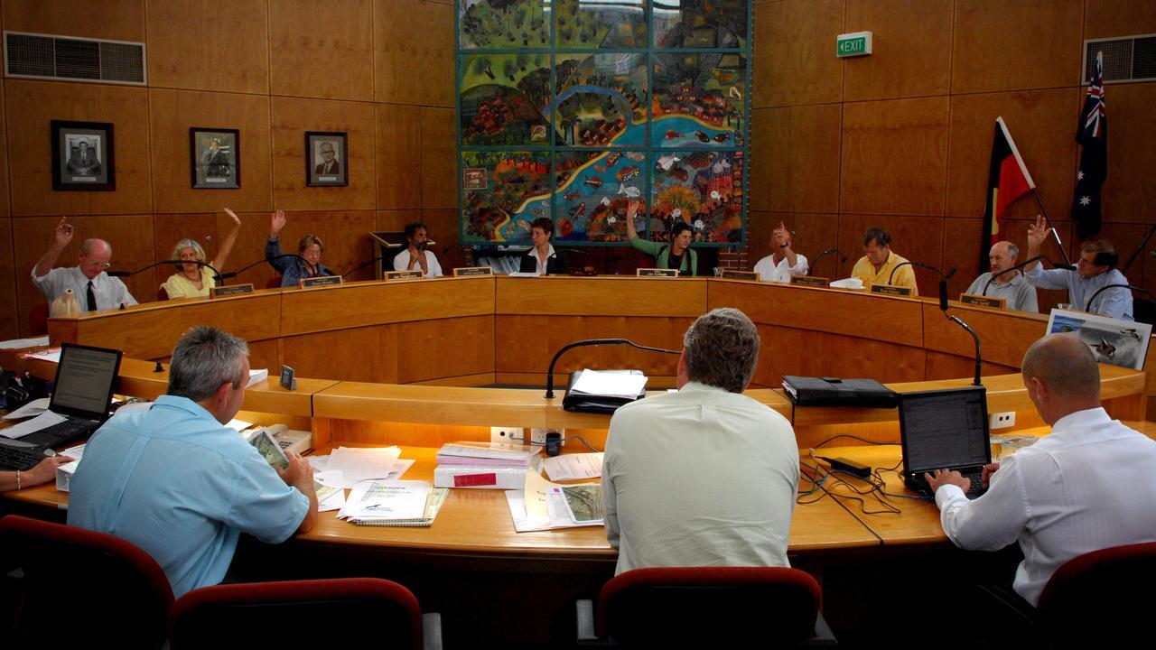 Stock shot of Council Chambers at Mullumbimby. Picture: Patrick Hamilton