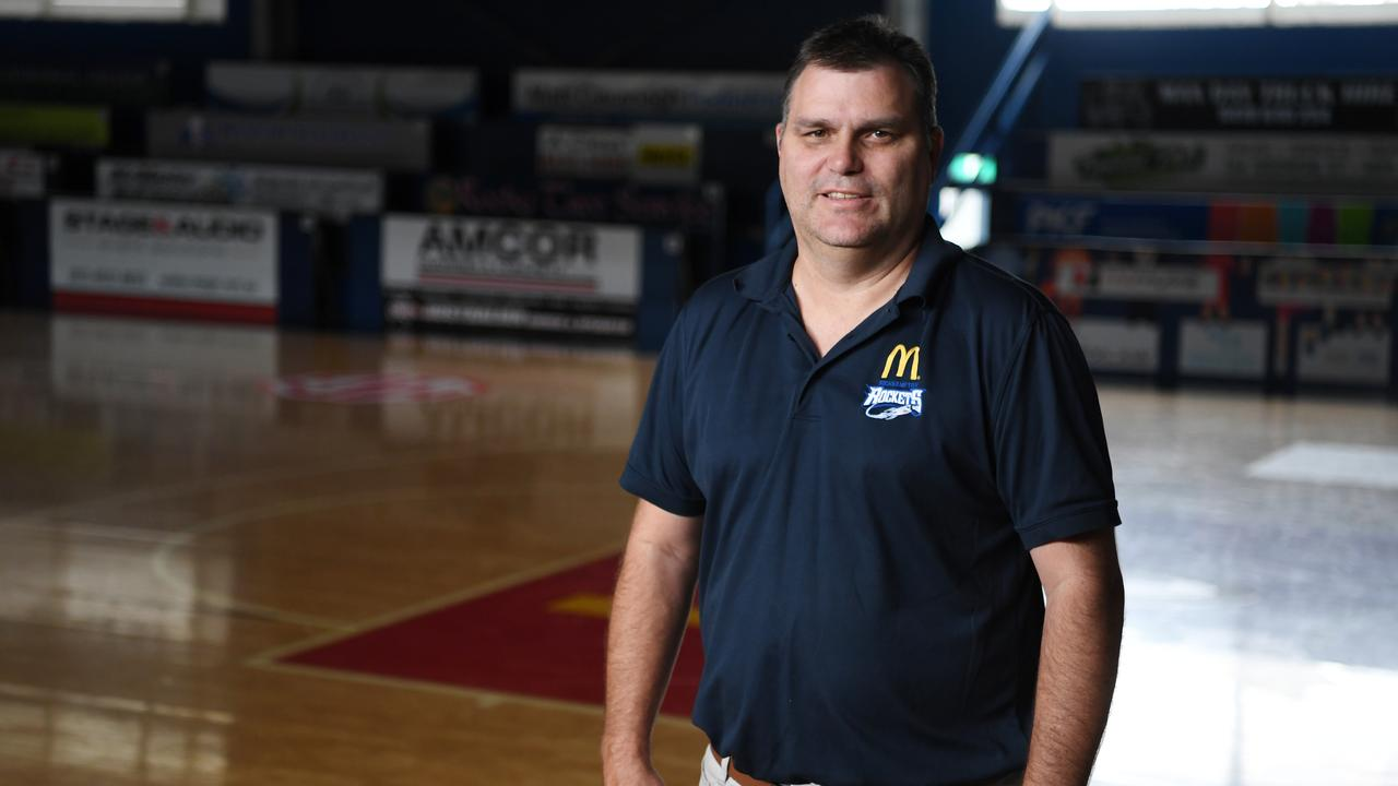 """Rockhampton Basketball manager Wade Rebetzke: """"It's the same for everyone at the moment – we're just trying to manage a bad situation."""""""