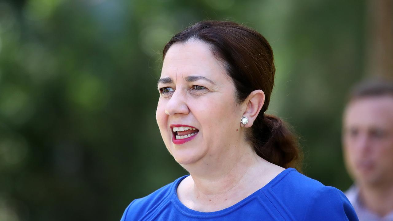Queensland Premier Annastacia Palaszczuk (AAP Image/Jono Searle)