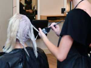 Hairdressers 'at risk' for virus exposure