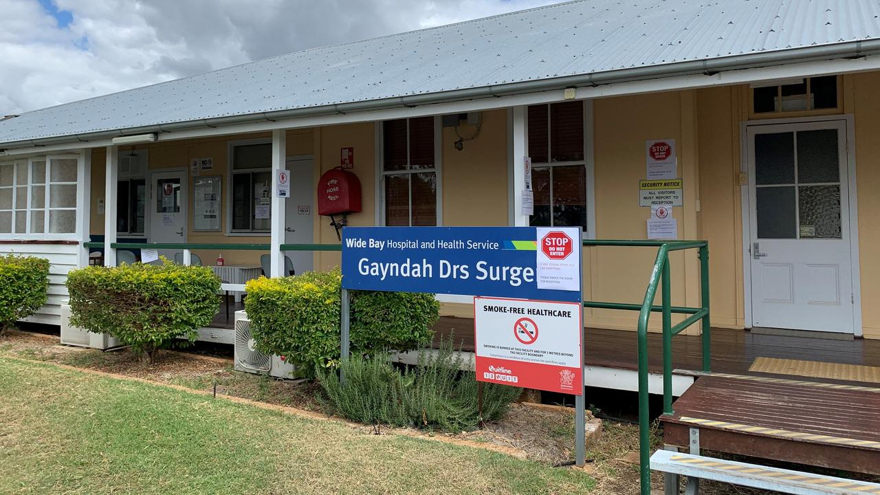 DOORS ARE LOCKED: The Gayndah Medical Practice has gone to new lengths to minimise the spread of coronavirus in the region. Picture: Sam Turner