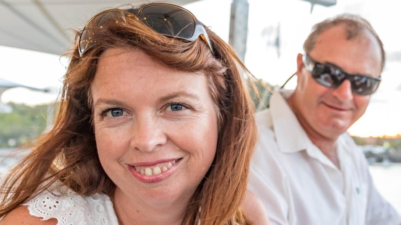 Kirsty Tarratt with husband Scott