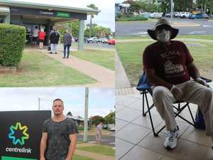'People are scared': Burnett residents turn to Centrelink