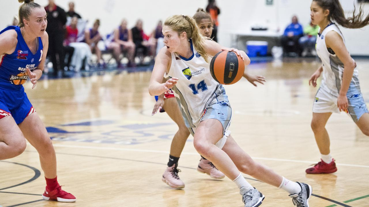 Mary Goulding and her Rockhampton Cyclones teammates will not play this season, nor will the Rockhampton Rockets after the cancellation of the NBL1 North season. Picture: File