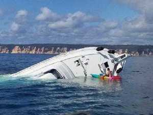'They were screaming': Fisher pulls family from sinking boat