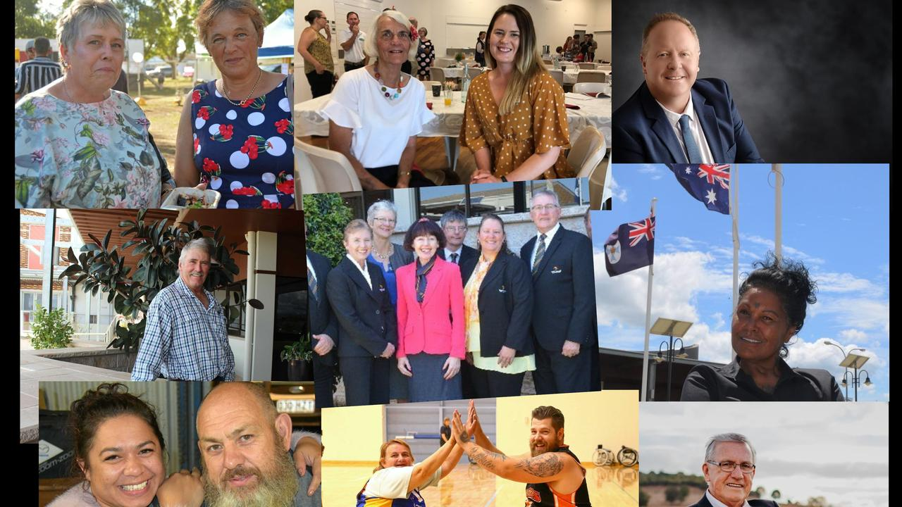 COUNCIL RACE: The many faces of South Burnett residents who have entered the council election later this month. Photo: Contributed