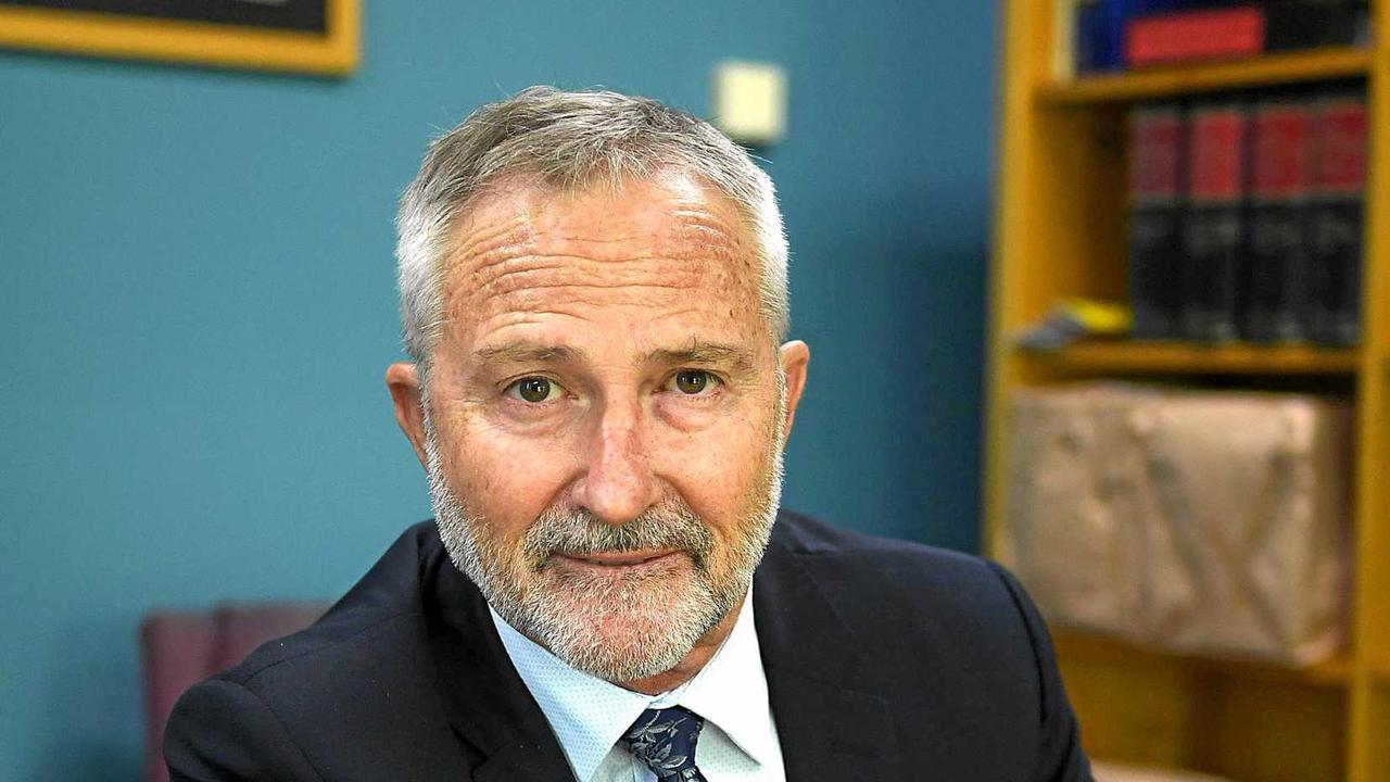 APOLOGY ACCEPTED: Gympie magistrate Chris Callaghan has accepted an apology from a woman who had refused to accept the authority of the court, to the point of yelling from the public gallery.