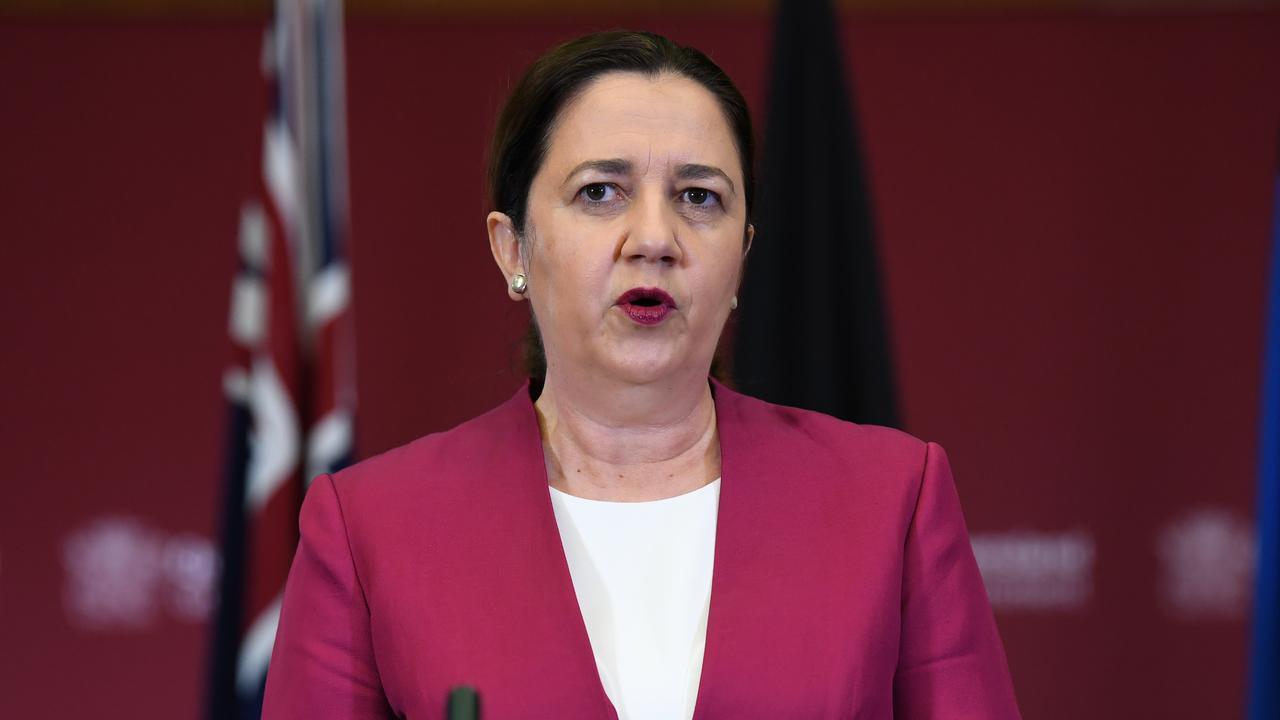 Queensland Premier Annastacia Palaszczuk (AAP Image/Dan Peled)