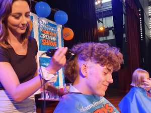 'Brave shave' as school gives to life saving cause