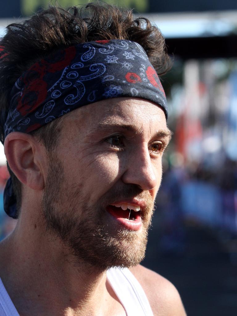 Marathon master Clay Dawson.