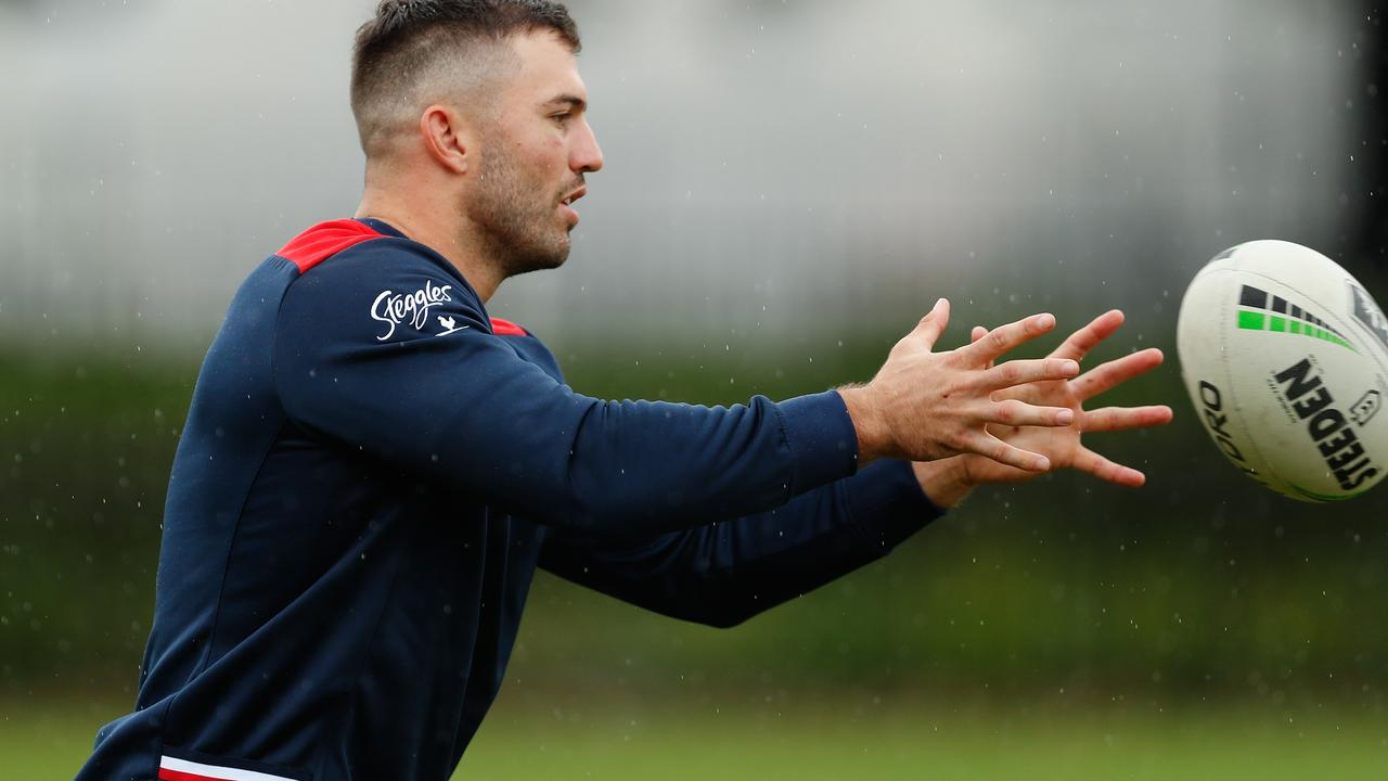 James Tedesco will continue his training in isolation. Photo: Brendon Thorne/Getty Images