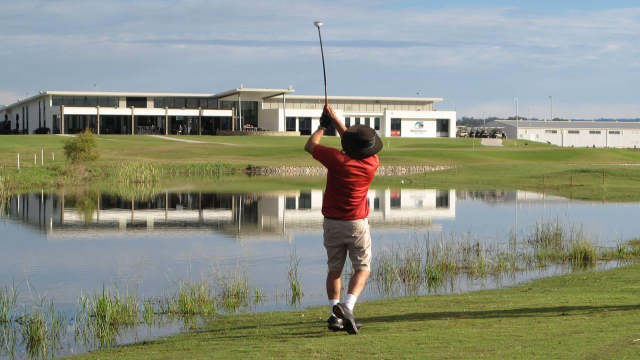 Maroochy River Golf Club and others around the region are back open for play after updated advice from experts. Photo: Robert Hope
