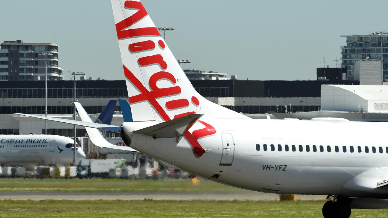 Virgin Australia has stood down 8000 workers. Picture: AAP Image/Joel Carrett.