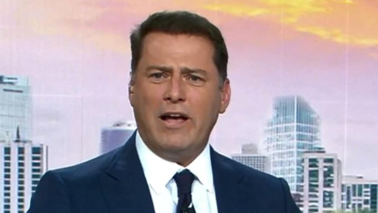 Karl Stefanovic has grilled Services Australia general manager Hank Jongen on Today.