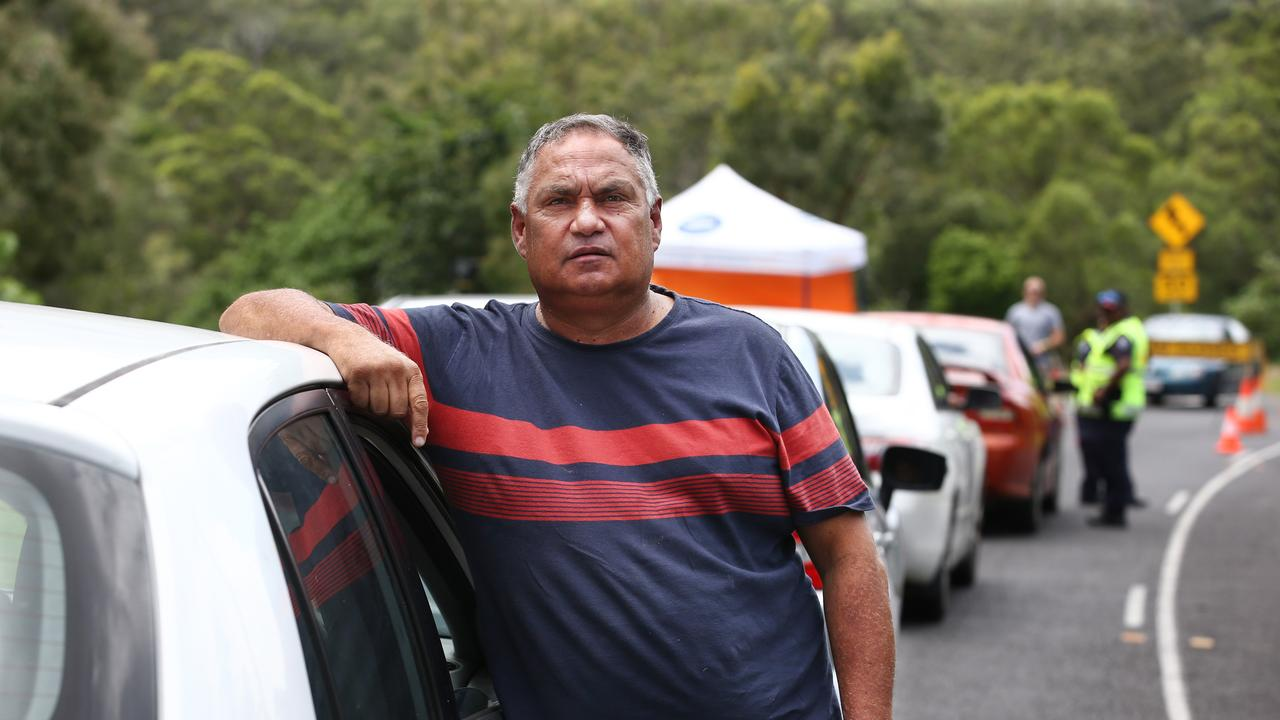 Former Yarrabah mayor Errol Neal is supportive of the roadblock installed heading into the community. PICTURE: BRENDAN RADKE