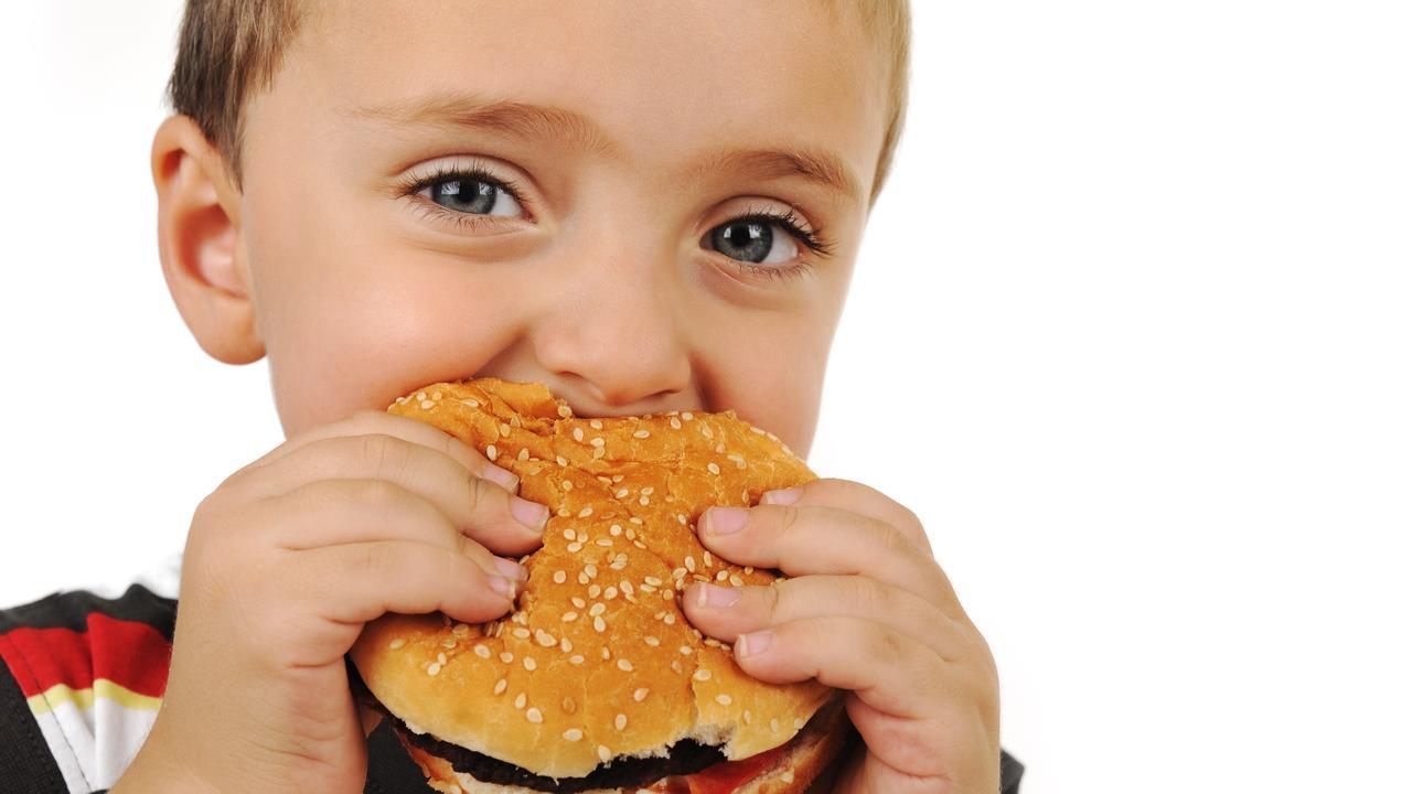 Kids love burgers.