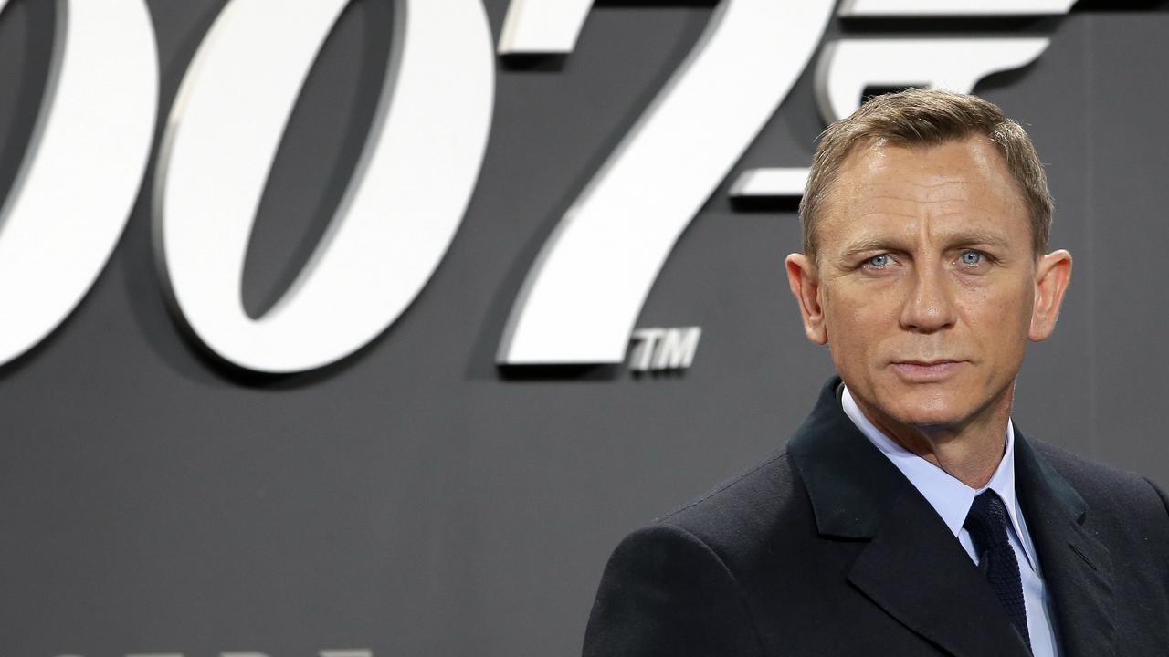 Daniel Craig has made a fortune playing James Bond. Picture: AP Photo/Michael Sohn/File