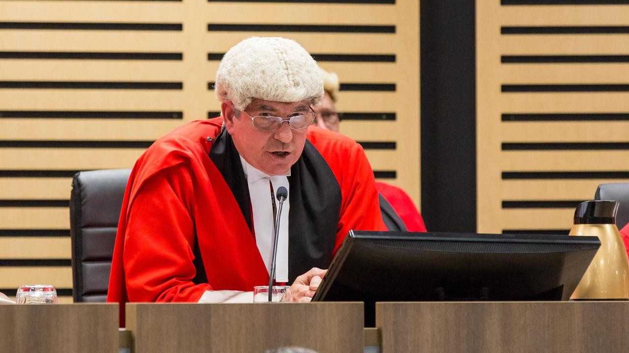 "Supreme Court Chief Justice Michael Grant has suspended all new jury trials in the NT until June 5 as a ""precautionary measure"" in the wake of the coronavirus lockdown. Photo: Emma Murray"