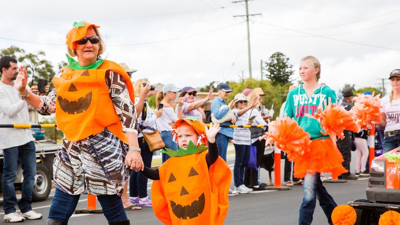 The Goomeri Pumpkin Festival.