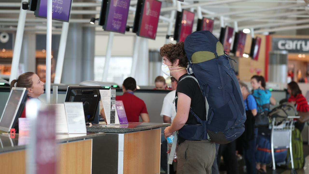 The coronavirus pandemic has caused chaos for the nation's airlines. Virgin Australia has announced it will reduce its domestic capacity by 90 per cent. Photo: Annette Dew