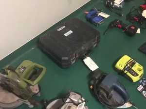 WAtch Ballina Police Raid