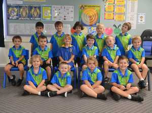 Prep E students from West State School, BundabergFrom