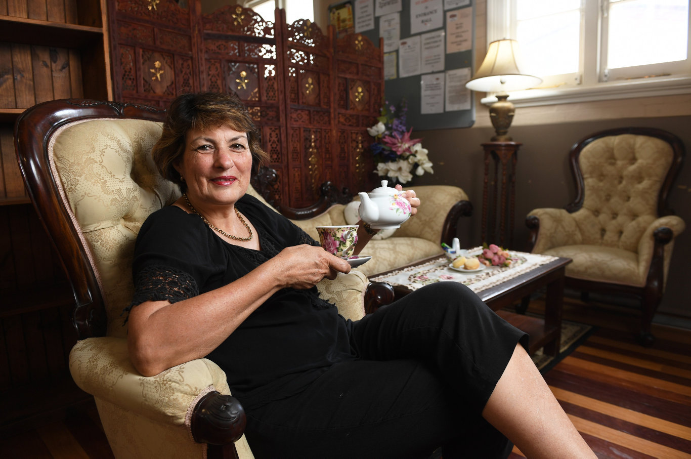 Ailsa Andersen has opened Heritage Coffee Corner in the Ipswich Antique Centre.
