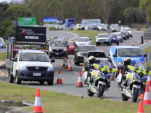 IN PICTURES: Massive traffic delays at border crossing