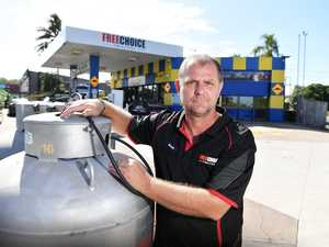 Wannabe superhero tries to light up Coast fuel station