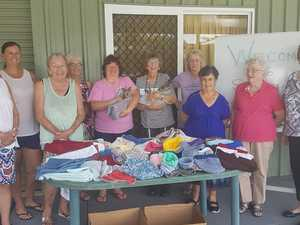 CWA sends 300 hand-crafted items to bushfire animals