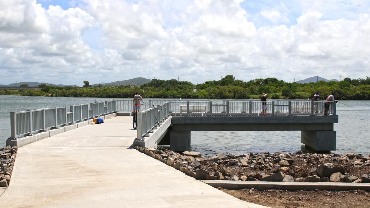 The new Hospital Bridge fishing pier was opened to the public today. Mackay Regional Council is encouraging anglers to maintain safe social distances while using the pier to prevent the spread of COVID-19.