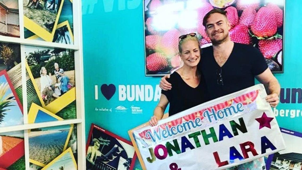 Lara Harris and Jonny Merefield.