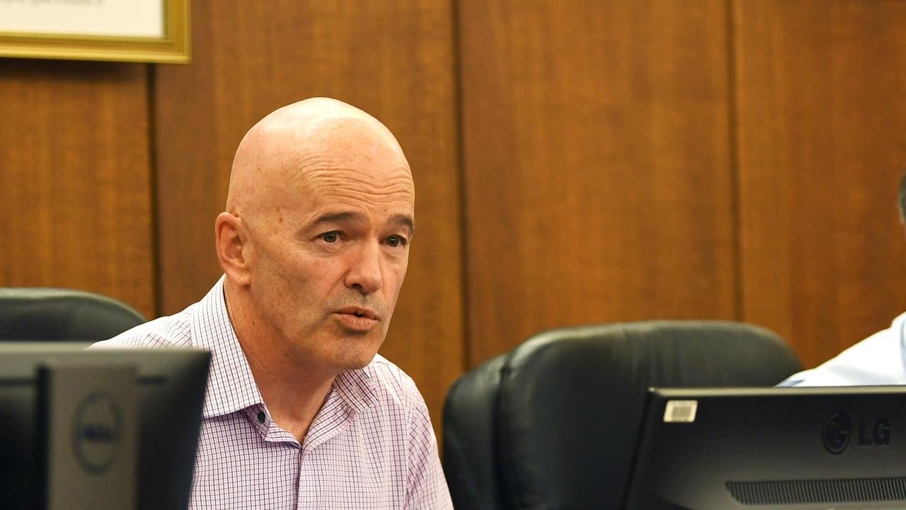 Gympie Council CEO Bernard Smith. Gympie Regional Council