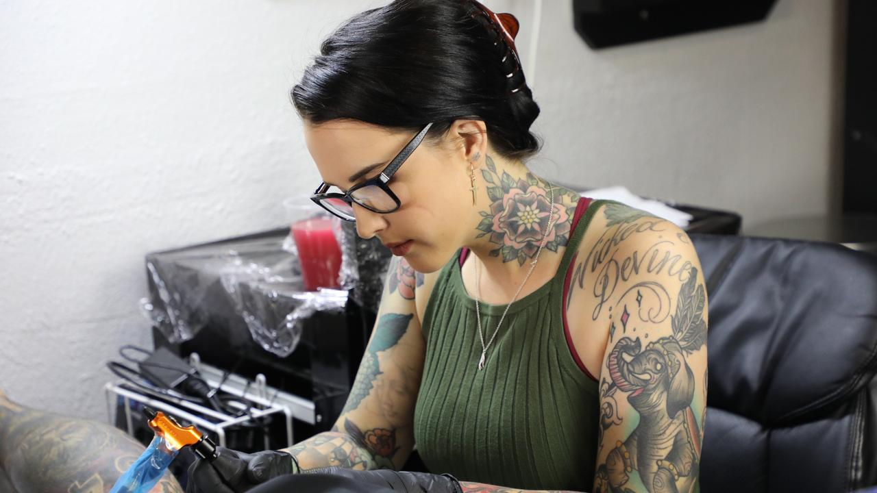 Haylee Cotter of The Arrow's End Tattoo Parlour has been forced to close indefinitely following the coronavirus pandemic.