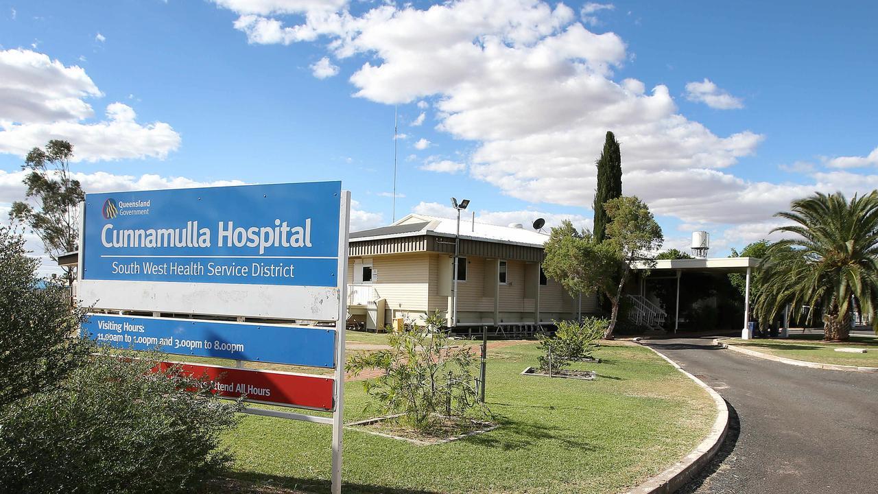 Cunnamulla Hospital. Picture: Josh Woning.