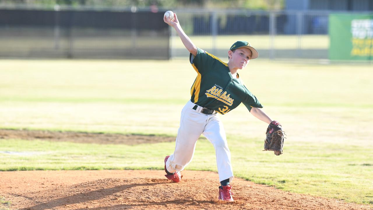 Action from the Australian Little League Baseball Championships at Lismore last year. The event this year has been postponed. Photo Marc Stapelberg